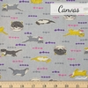 Japanese Import, Canvas, Hungry Otter Grey