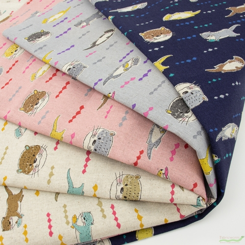 Japanese Import, Canvas, Hungry Otter Navy