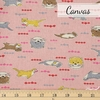 Japanese Import, Canvas, Hungry Otter Pink