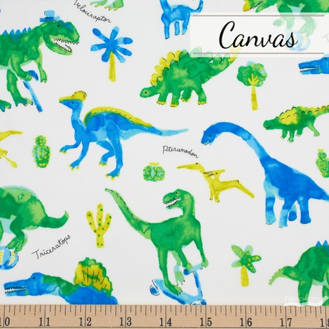 Japanese Import, Canvas, Prehistoric Playtime