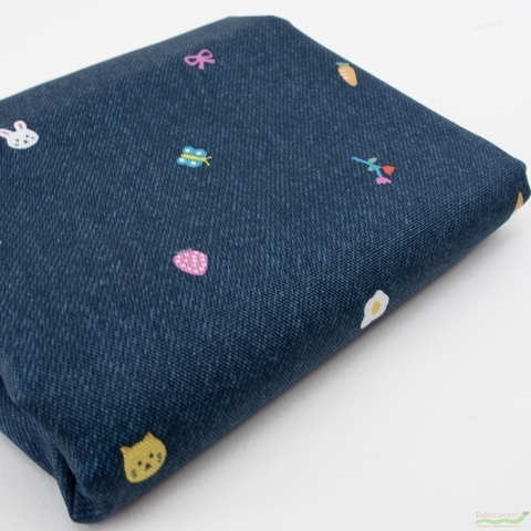 Japanese Import, Canvas, Spring Playtime Blue Jean