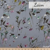 Japanese Import, Cotton Lawn, Wild Wishes Dusty Blue