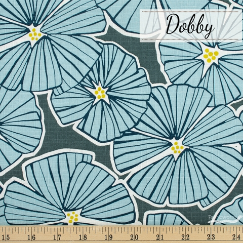 Japanese Import, Dobby, Room to Bloom Blue