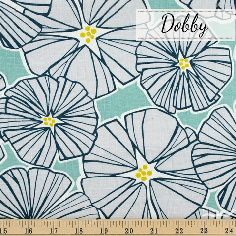 Japanese Import, Dobby, Room to Bloom Grey