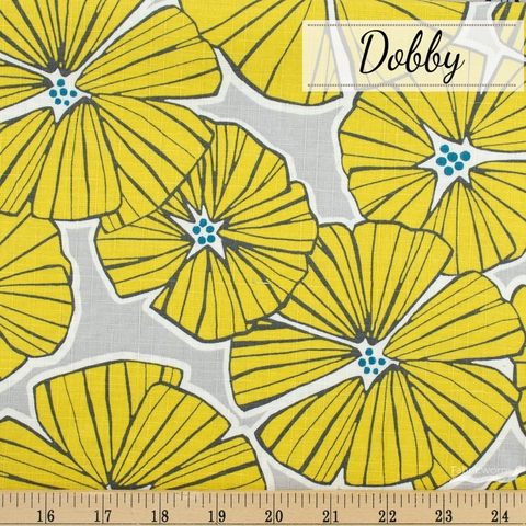 Japanese Import, Dobby, Room to Bloom Yellow