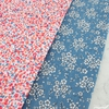 Japanese Import, Double Gauze, Berry Bloom Pink