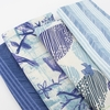 Japanese Import, Double Gauze, Spring Breeze in FAT QUARTERS 7 Total (PRECUT)