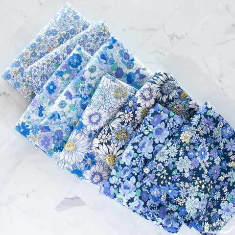 Japanese Import, Floral Finds, Cammie Blue Night
