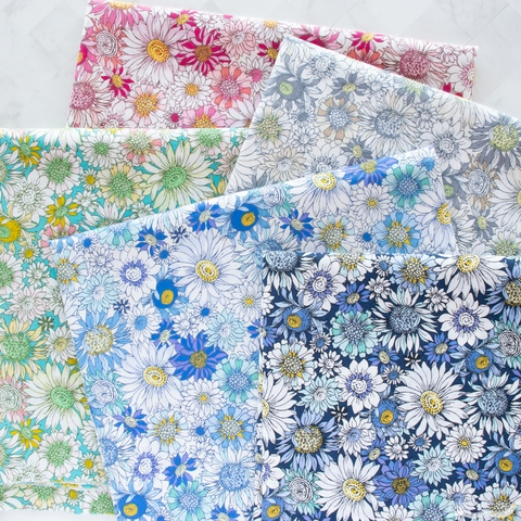 Japanese Import, Floral Finds, Sunny Blue Night