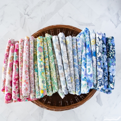 Japanese Import, Floral Finds, Teeny Blue