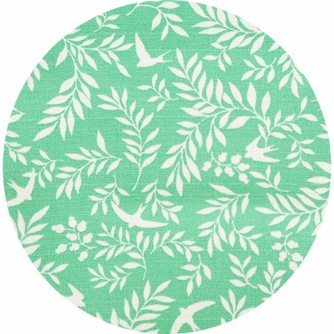 Japanese Import, LIGHTWEIGHT BARKCLOTH, Swallow Breeze Pond