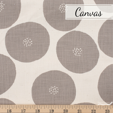Japanese Import, Lightweight Canvas, Fruit Seed Natural