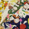 Japanese Import, Lightweight Canvas, Funky Fungi in FAT QUARTERS 5 Total