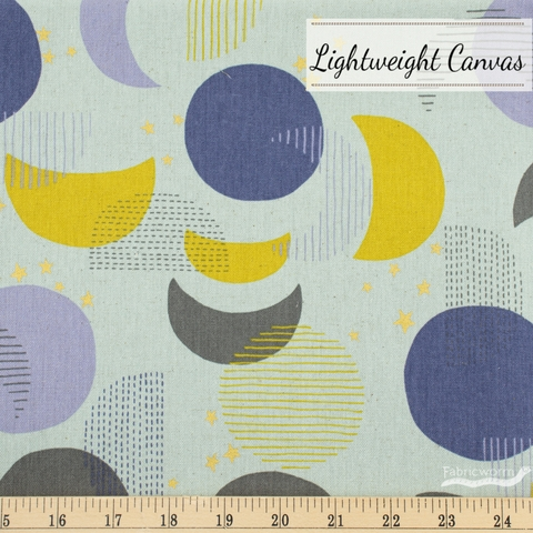 Japanese Import, Lightweight Canvas, Many Moons Grey