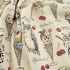 Japanese Import, Lightweight Canvas, Owl Scoops Natural