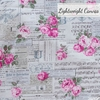 Japanese Import, Lightweight Canvas, Rose Song Natural
