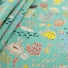 Japanese Import, Lightweight Canvas, Sea Creatures Natural