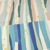 Japanese Import, Lightweight Canvas, Strand Stripes Pool Party Metallic