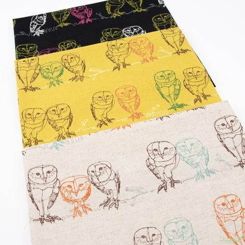Japanese Import, Lightweight Linen, Owlet Natural