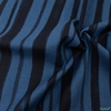 Japanese Import, Lightweight Linen, Paint Stripe Night Blue