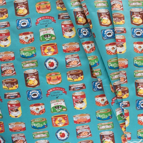 Japanese Import, Lightweight Oxford, Canned Variety Aqua