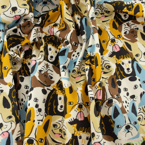 Japanese Import, Lightweight Oxford, Pooch Pouts Beach