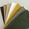 Japanese Import, Linen Blend Canvas Solids, Afternoon Meadow Bundle 7 Total