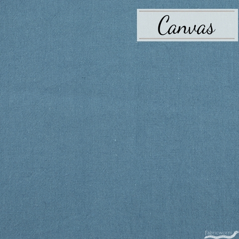 Japanese Import, Linen Blend Canvas Solids, Nautical