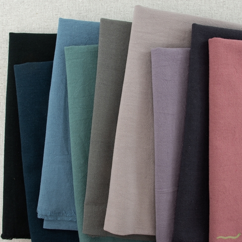 Japanese Import, Linen Blend Canvas Solids, Pansy