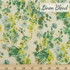 Japanese Import, Linen Blend, Fond of Floral Green