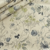 Japanese Import, Linen Blend, Found Flowers Storm