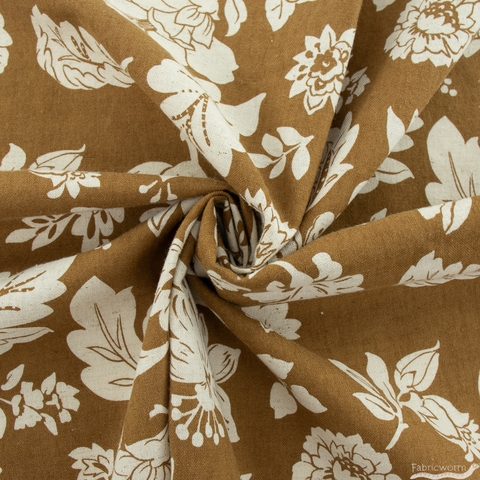 Japanese Import, Linen, Grand Floral Spice