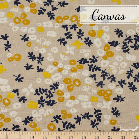 Japanese Import, Midweight Canvas, Breezy Buds Mustard