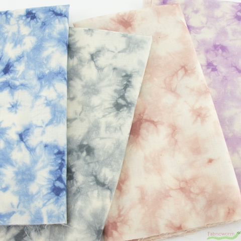 Japanese Import, Scrunched and Dyed Storm