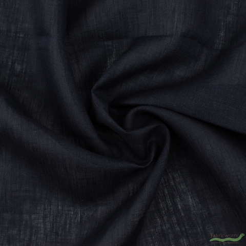 Japanese Import, Solid Linen, Midnight