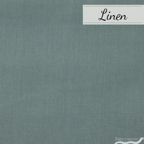 Japanese Import, Solid Linen, Storm