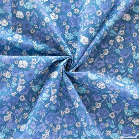 Japanese Import, Standing Floral Blue