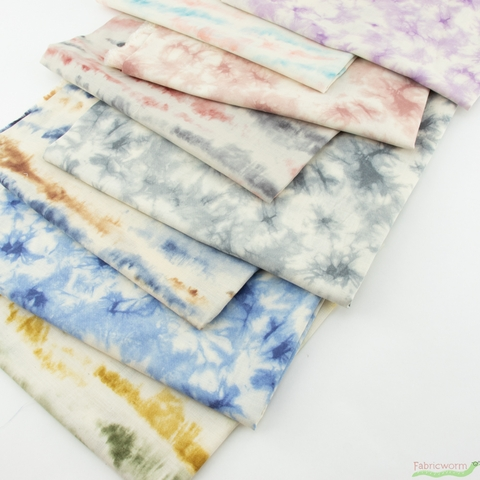 Japanese Import, Tie Dyed Lines Cloudy Field