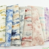 Japanese Import, Tie Dyed Lines Cotton Candy