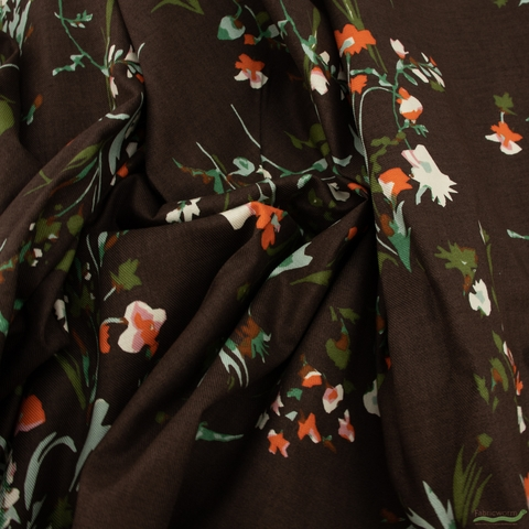 Japanese Import, Twill, Wild Growth Brown