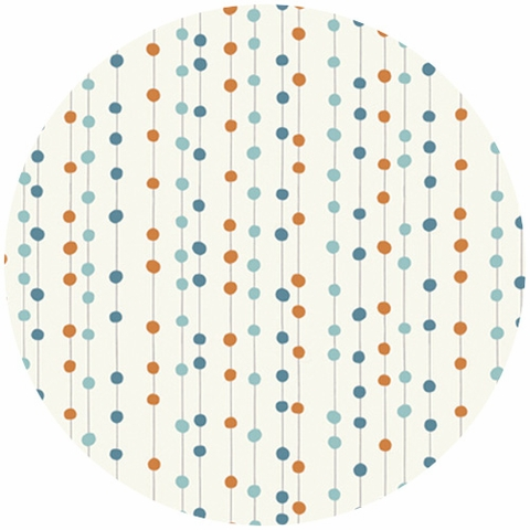 Jay-Cyn Designs for Birch Fabrics, Feather River, KNIT, Bobbers Orange