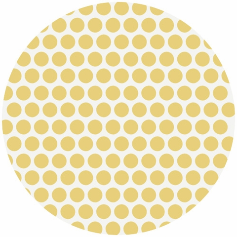 Jay-Cyn Designs for Birch Fabrics, Mod Basics, Organic, Dottie Color Sun