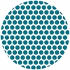 Jay-Cyn Designs for Birch Fabrics, Mod Basics, Organic, Dottie Color Teal