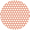 Jay-Cyn Designs for Birch Fabrics, Mod Basics, Organic, Dottie Cream Coral