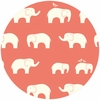 Jay-Cyn Designs for Birch Fabrics, Mod Basics, Organic, Ellie Fam Coral
