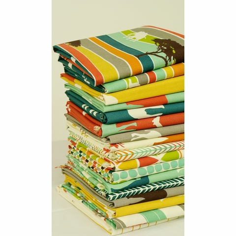 Jay-Cyn Designs for Birch Fabrics, Serengeti, Flight Stripe
