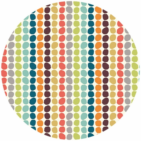 Jay-Cyn Designs for Birch Fabrics, Serengeti, Pebble Stripe Multi