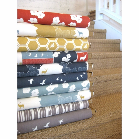 Jay-Cyn Designs for Birch Fabrics, The Grove, ORGANIC CANVAS, Knotty Bois River Rock