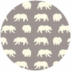 Jay-Cyn Designs for Birch Organic Fabrics, Bear Camp, Bear Hike Shroom