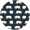Jay-Cyn Designs for Birch Organic Fabrics, Bear Camp, CANVAS, Bear Hike Dusk